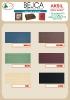 Aksil - Karta kolorów bejc akrylowych wykończeniowych