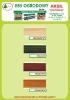 aksil - karta kolorów lakieru E-85-OGRODOWY