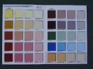 Aksil - karta kolorów pastelowych farb do fasad Aksilbet i As-Lak